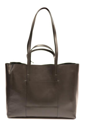GIANNI CHIARINI - BORSA SHOPPING SUPERLIGHT NERA