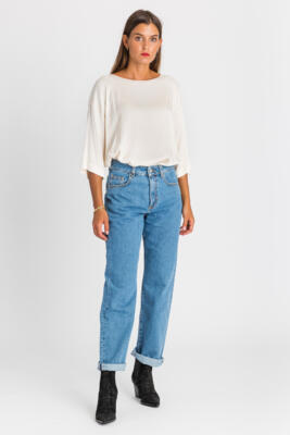 LATINO-LUCE JEANS CHIARO MOM FIT