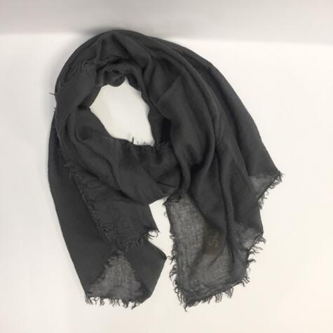 SUD - ANTHRACITE COLOR SCARF
